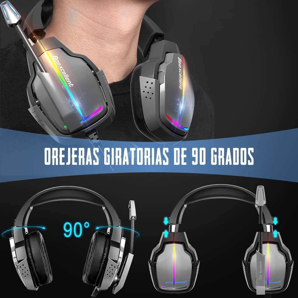 Cascos Gaming PS5 Beexcelent